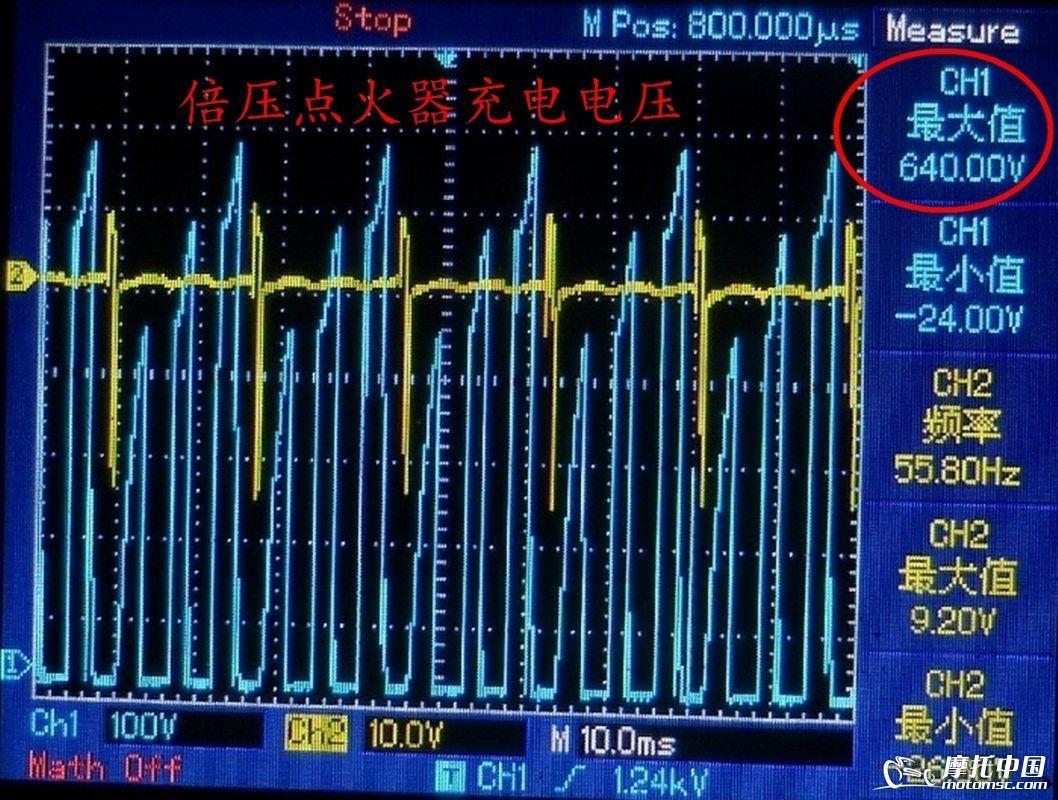 某些交流电容点火器使用了倍压充电的方式,将点火电源线圈的正负半波